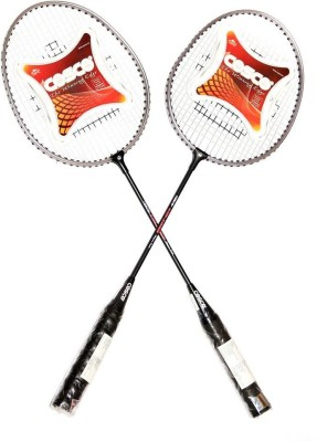 Cosco CB-95 G5 Strung Badminton Racquet (Black, Yellow, Pink, Multicolor, Weight - 180 g)