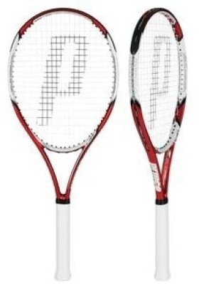 Prince Hornet 100 G3 Unstrung Tennis Racquet (Red, White, Weight - 275 G)