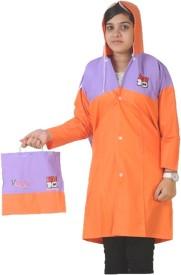 VARIETY Solid Boy's, Girl's Raincoat