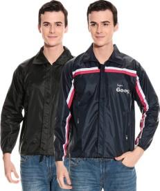 CIVIL OUTFITTERS Striped Men's, Women's Raincoat