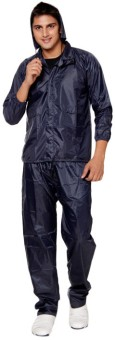 Keepsake Solid Men's Raincoat
