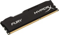 Kingston HyperX Fury DDR3 8 GB (1 X 8 GB) PC (HyperX Fury HX316C10FB/8) (Black)