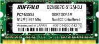 Buffalo Original DDR2 512 MB (1 x 512 MB) Laptop SDRAM (B24201506-28)