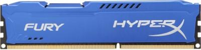 Kingston HyperX Fury DDR3 8 GB (1 X 8 GB) PC (HyperX Fury Blue) (Blue)