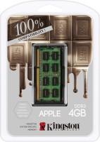 Kingston Dominator DDR3 4 GB (4 X 4 GB) Laptop DRAM (Mac Memory 4GB DDR3L-1600(PC3-12800) SO-DIMM 1.35V (KTA-MB1600L/4GFR)) (Green)