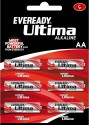 Eveready 2115 AA LR6 (Pack Of 6) Alkaline Battery