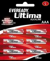 Eveready 2112 AAA LR03 (Pack Of 6) Alkaline Battery