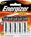 Energizer Max Alkaline AA X 8 E91BP8 Alkaline Battery