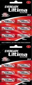 Eveready AA Battery - Pack Of 12 Alkaline
