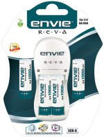 Envie Reva Charger + 4 x 1000 Ni Cd