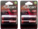 Tuscan 1.2v AA 1100 2 Pcs Rechargeable Battery