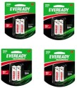 Eveready Ultima 600 MAh AAA 8 Pc Battery Rechargeable Battery