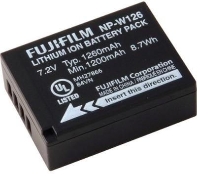Fujifilm NP W126 Rechargeable Li ion Battery available at Flipkart for Rs.2990
