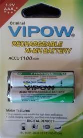 Vipow 1.2v AAA 1100 1 Pcs Rechargeable Battery