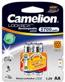 Camelion LB NH-AA2700BC2 Rechargeable Battery
