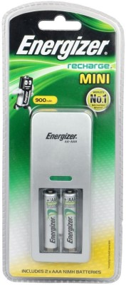 Energizer W/Charger 2AAA 900 mAh