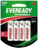 Eveready 1000 series AA 4 PC NiMH