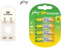 Godrej Gp Combo Of S350 Charger & 600 Mah Rechargeable Ni-MH Battery