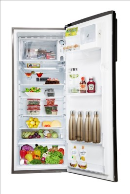 Panasonic 215 L Direct Cool Single Door Refrigerator (NR-A221STGGP, Grey Glitter)