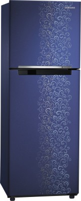 Samsung 253 L Frost Free Double Door Refrigerator (RT27JSRZAUT/TL, Pebble Blue)