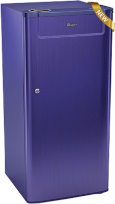 Whirlpool 190 L Direct Cool Single Door Refrigerator (205 GENIUS CLS PLUS 4S, Sapphire Titanium)