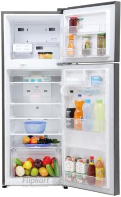 LG 284 L Frost Free Double Door Refrigerator (GL-I302RTNL, Titanium)