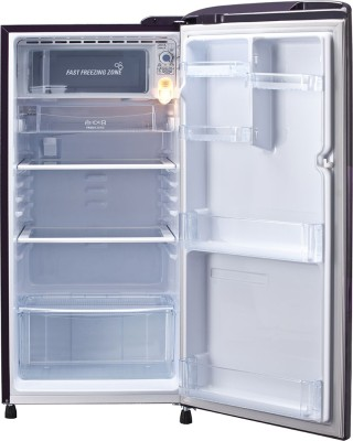 LG 190 L Direct Cool Single Door Refrigerator (GL-B201APRL, Purple Royal)