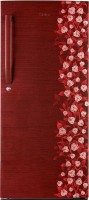 Haier 195 L Direct Cool Single Door Refrigerator (HRD-2157CRI-R, Red Floral)