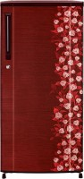 Haier 170 L Direct Cool Single Door Refrigerator (HRD-1905CRI-H, Red Floral)