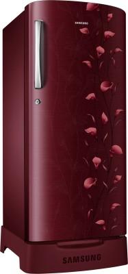 Samsung 212 L Direct Cool Single Door Refrigerator (RR21J2835RZ/TL, Sanganari Ring Red)