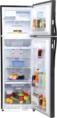 Whirlpool 292 L Frost Free Double Door Refrigerator (NEO FR305 ROY PLUS 3S, Imperia Black)