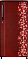 Haier 190 L Direct Cool Single Door Refrigerator (HRD-2105CRI-H, Red Floral)