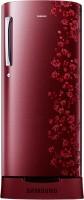 SAMSUNG 212 L Direct Cool Single Door Refrigerator (RR21J2835RX/TL, Orcherry Garnet Red)