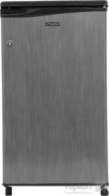 Sansui 80 L Direct Cool Single Door Refrigerator (SC090LSH - FDW, Silver Hairline)