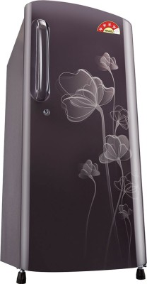 LG 190 L Direct Cool Single Door Refrigerator (GL-B201AGHP, Graphite Heart)