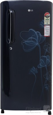 LG 190 L Direct Cool Single Door Refrigerator (GL-D201AMHL, Marine Heart)