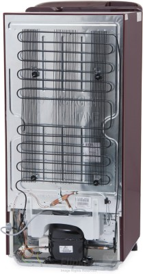 LG 190 L Direct Cool Single Door Refrigerator (GL-D201ASHL, Scarlet Heart)