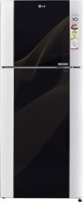 LG GL-M442TKRL 4S 407 Litres Double Door Refrigerator