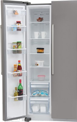 Panasonic 600 L Frost Free Side by Side Refrigerator (NR-BM601MS1N, Silver)
