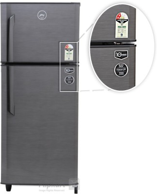 Godrej 240 L Frost Free Double Door Refrigerator (RT EON 240 P 2.3, Silver Strokes)