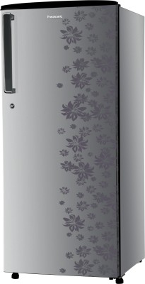 Panasonic 215 L Direct Cool Single Door Refrigerator (NR-A221STSFP, Silver Floral)