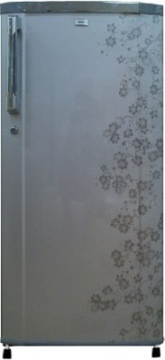 Haier 190 L Direct Cool Single Door Refrigerator (HRD-2105CGB-H, Grey Blossom)