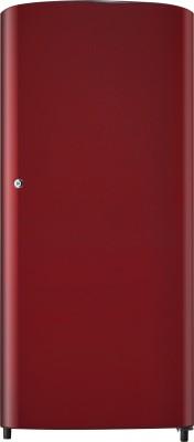 Samsung 192 L Direct Cool Single Door Refrigerator (RR19J2413RJ, Royal Tendrils Red)