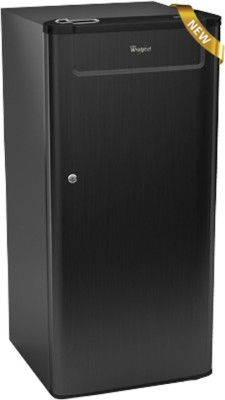 Whirlpool 190 L Direct Cool Single Door Refrigerator (205 GENIUS CLS PLUS 4S, Black Titanium)