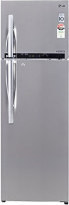 LG GL-D372HNSL 335 Litres Double Door Refrigerator