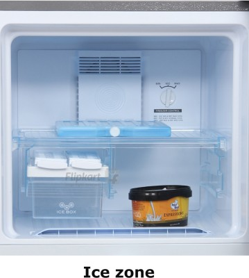 Haier 247 L Frost Free Double Door Refrigerator (HRF-2673BS-R, Brushline Silver)