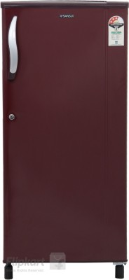 Sansui 150 L Direct Cool Single Door Refrigerator (SH163BBR-FDA, Burgundy Red)