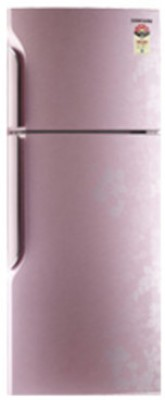 Samsung RT2735TNBPZ/TL Double Door   Top Freezer 255 Litres Refrigerator Silhoutte Pink available at Flipkart for Rs.20299