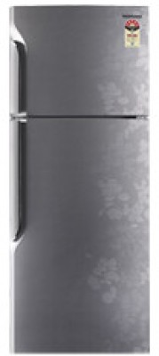 Samsung RT26HC Double Door   Top Freezer 255 Litres Refrigerator Silver Ripple available at Flipkart for Rs.19180