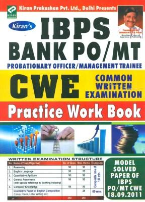 Buy IBPS Bank PO/MT CWE Common Written Examination Practice Work Book: Regionalbooks